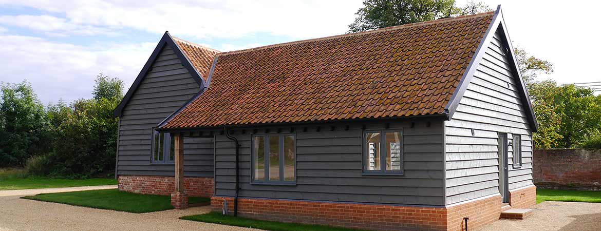 Timber frame barn conversion