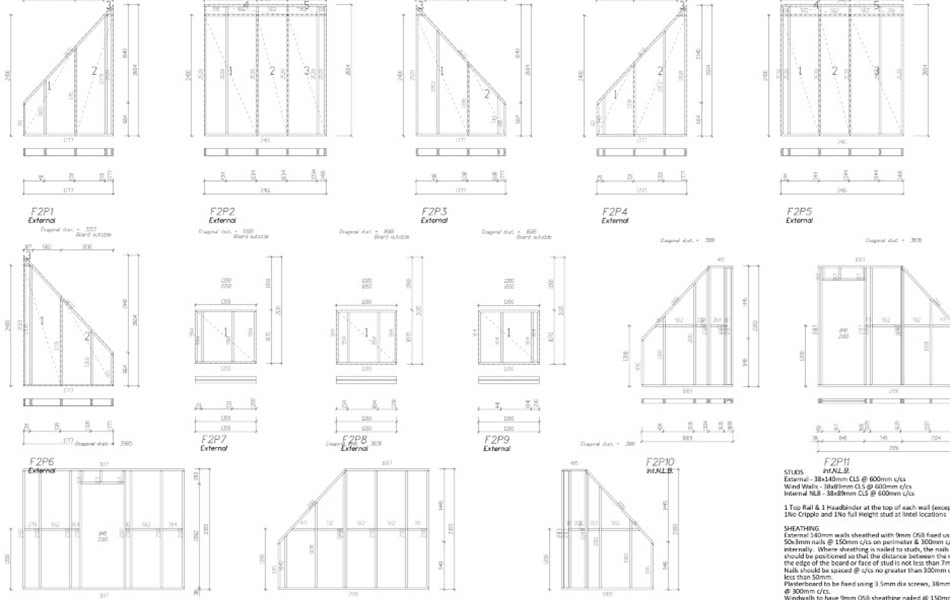 Design Service For Timber Frame Buildings Carpenters Norfolk