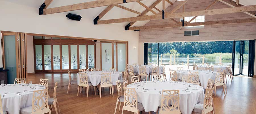 timber framed wedding venue