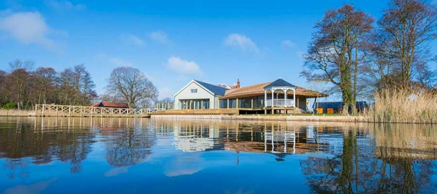 Waters Edge wedding venue, Ormesby Broad